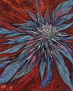Weed Metal Prints - Purple Haze Metal Print by Mary Jane
