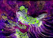 Black Tie Mixed Media - Purple Haze by Ron Carter