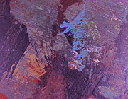 Haze Painting Prints - Purple Haze Print by Ron Haehle
