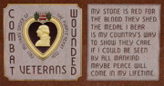 Military Medal Photo Framed Prints - Purple Heart Framed Print by Rick  Monyahan