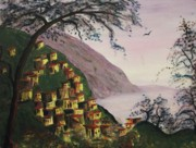 Suzanne  Marie Leclair - Purple Hill and Yellow Homes