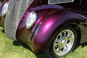 Purple Ford Photos - Purple Hot Rod by Sophie Vigneault