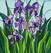 JW DeBrock - Purple Iris
