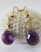 Mermaid Jewelry - Purple Is The New Black  by Adove  Fine Jewelry