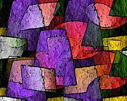 Terry Mulligan - Purple Layers of Abstract