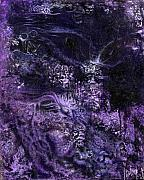 Surrealism Art - Purple Maze by Stephen Casals