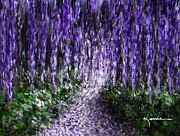 Pathway Paintings - Purple Morning by Kume Bryant