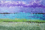 Mountains Mixed Media - Purple Mountains Majesty by Deborah Ronglien