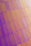 Metal Sheet Photos - Purple Orange Two by Chris Dutton