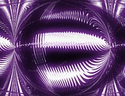Poster From Digital Art - Purple People Eater ll by Marsha Heiken