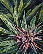 Mary Jane Paintings - Purple Power by Mary Jane