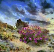 Nature Pastels - Purple Rain by Russ Harris