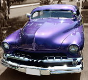 Pink Hot Rod Photos - Purple Ride by Raymond Earley