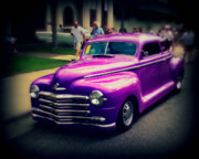 Paint Photograph Prints - Purple Rod Print by Perry Webster