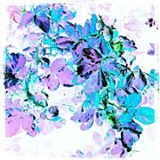 Impressionism Art - Purple Rose #android #andrography by Marianne Dow