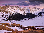 Pauls Colorado Photography Prints - Purple Skies Print by Paul Gana