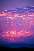 Sunset Greeting Cards Photo Prints - Purple Sky  Print by Kevin Bone