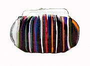 Tasmanian Glass Art - Purse by Sarah King