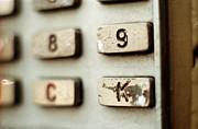 Macro Photograph Originals - Push the K by Kristijonas Tarabilda