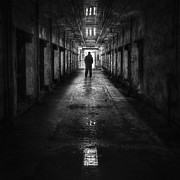 Jail Metal Prints - Put My Name On The Walk Of Shame Metal Print by Evelina Kremsdorf
