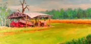 Machinery Painting Originals - Put Out To Pasture by Bob Newman