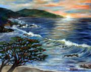 Big Sur Beach Originals - Putting my first love to rest by Annette Dion McGowan