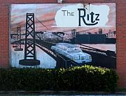 Ritz Prints - Putting on the Ritz  Richmond Virginia Print by Wayne Higgs