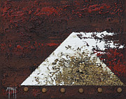 Still Framed Prints Mixed Media Posters - Pyramid 1 Poster by Mauro Celotti