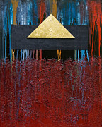 Still Framed Prints Mixed Media Posters - Pyramid 2 Poster by Mauro Celotti