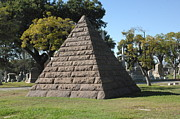 Manifestation Prints - Pyramid Mausoleum Print by Liezel Rubin