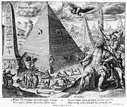 Fanciful Metal Prints - PYRAMIDS, 17th CENTURY Metal Print by Granger