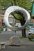 Outdoor. Sculpture Originals - Q mobius by Ben Dye