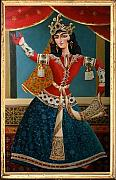 Persia Paintings - Qajar  by Bijan Ghaderi