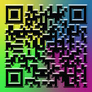 Information Digital Art Posters - QR Art Poster by Ricky Barnard