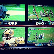 Sports Art - #quadboxsighting #nflredzone by Alex Mamutin