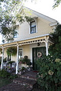 Quaint House Architecture - Benicia California - 5d18794 Print by Wingsdomain Art and Photography