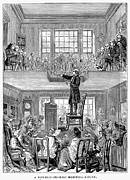Quaker Meeting Posters - Quaker Meeting House Poster by Granger