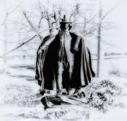 Fairmount Park Art - Quaker Pilgrim by Bill Cannon
