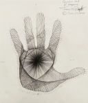 Acquired Drawings - Quantum Hand by Jason Padgett