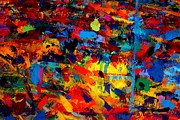 Abstract Fine Art Paintings - Quantum Leap by John  Nolan