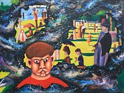 Jatte Paintings - Quantum Quasimodo by Art Enrico