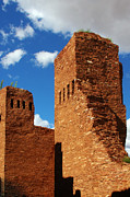 Spanish Posters - Quarai Salinas Pueblo Missions National Monument Poster by Christine Till