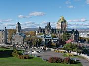 Quebec City 1 Print by John Burnett
