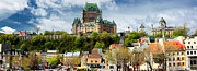 Photography Art Posters - Quebec City Poster by Photography Art
