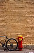 Art Ferrier Metal Prints - Quebec hydrant Metal Print by Art Ferrier