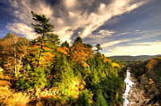 Quechee Prints - Quechee Gorge in the Fall  Print by Rob Hawkins