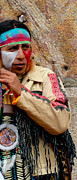 Headband Photo Posters - Quechuan Performer   Cuenca Ecuador Poster by Al Bourassa