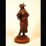 Featured Sculpture Originals - Queen Aliquippa by Bryan Rapp