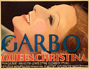 1933 Movies Prints - Queen Christina, Greta Garbo, 1933 Print by Everett