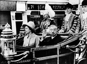 Queen Photos - Queen Elizabeth And Emperor Hirohito by Everett